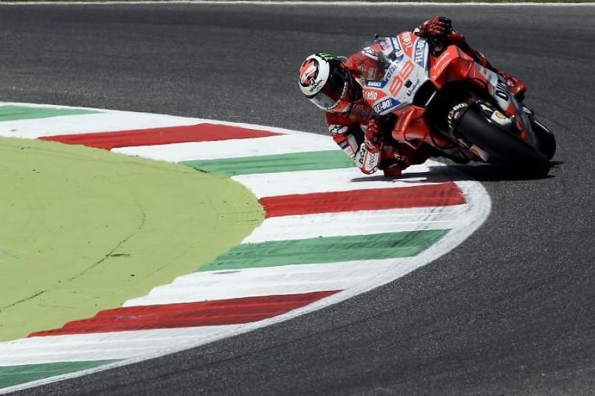 Jorge Lorenzo signed with Honda Racing Corporation for the next two years.