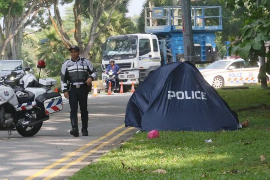 When police arrived at the scene, the motorcyclist was found lying motionless. The 33-year-old was pronounced dead at the scene.