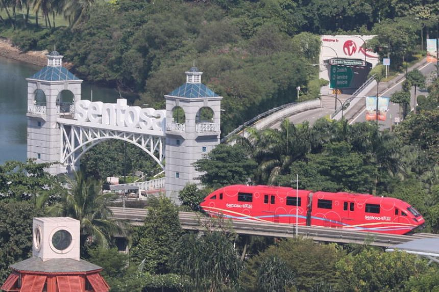 Sentosa attracts some 19 million visitors annually, and June is the beginning of the peak period, businesses said.