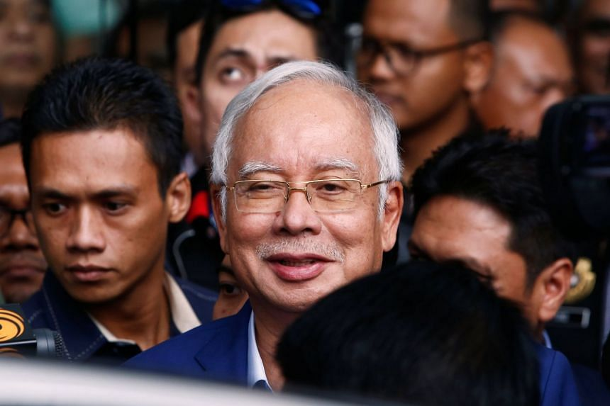 """Former prime minister Najib Razak said he was """"confident that all necessary process procedures and laws have been complied with"""" in the two pipeline projects."""
