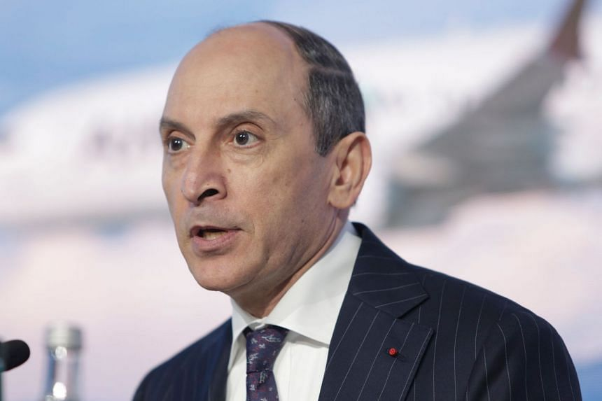 Qatar Airways chief executive Akbar Al Baker said his remarks had been intended as a joke and taken out of context.