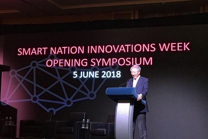 Revealing plans under the new Digital Government Blueprint, Deputy Prime Minister Teo Chee Hean said the digital transformation would put citizens at the centre.