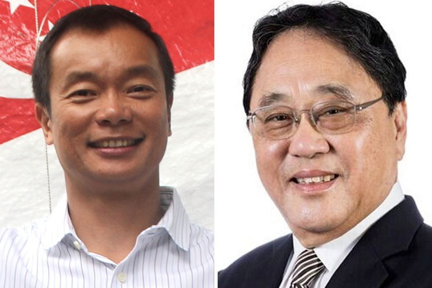Ben Tan (left) and Milan Kwee received the highest number of votes at the Singapore National Olympic Council's AGM last night and will each serve four years as the council's vice-presidents.