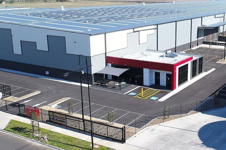 The CEVA Tech facility in Victoria, Australia - one of Frasers Logistics & Industrial Trust's properties in the country.