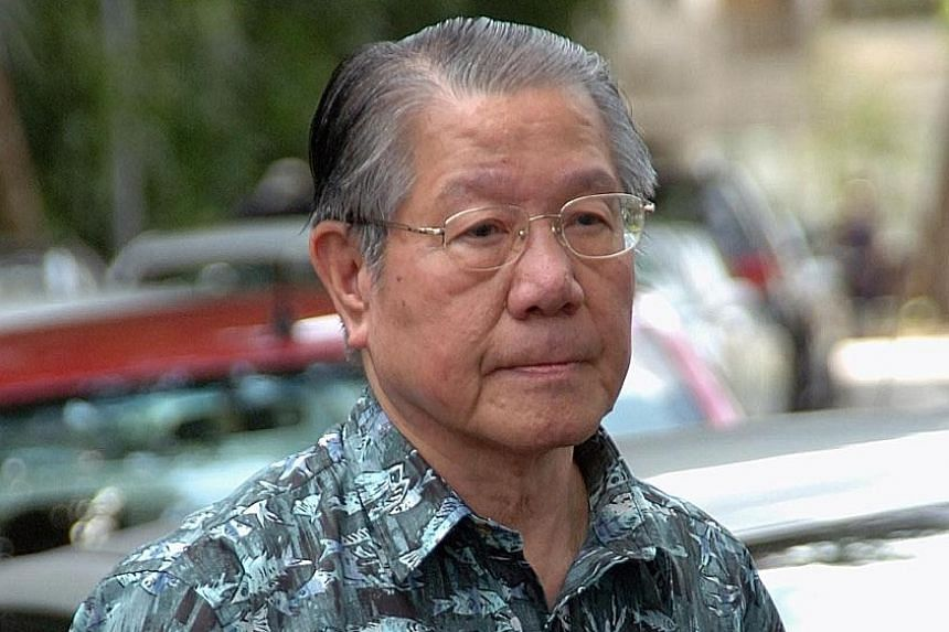 Mr Jek Yeun Thong died peacefully in his sleep at home on Sunday.