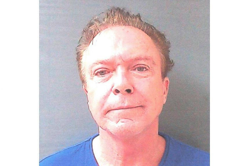 David Cassidy is shown in this Schodack Police Department photo after being arrested and charged with drink driving in Schodack, New York, on Aug 21, 2013.