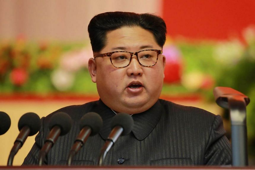 File photo showing North Korean leader Kim Jong Un attending a conference in Pyongyang, on Dec 12, 2018.
