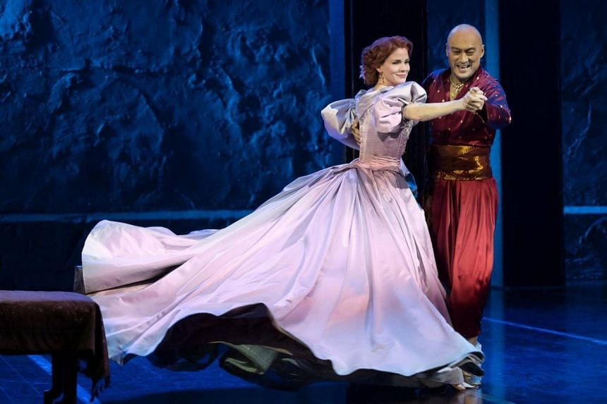 Ken Watanabe and Kelli O'Hara, who will be starring in the Broadway revival of the 1951 Rodgers & Hammerstein musical The King And I.