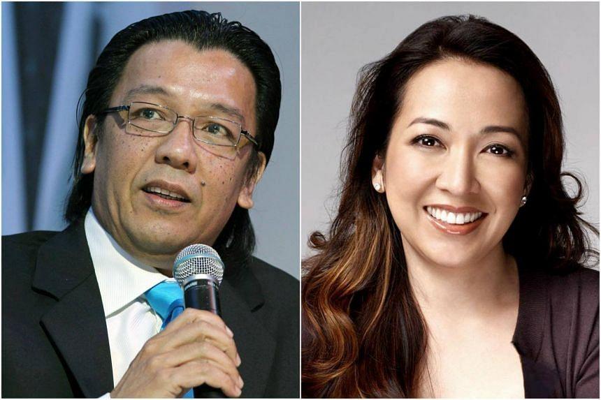 Telekom Malaysia chief executive officer Mohammed Shazalli Ramly (left) and Astro Malaysia Holdings CEO Rohana Rozhan have quit.