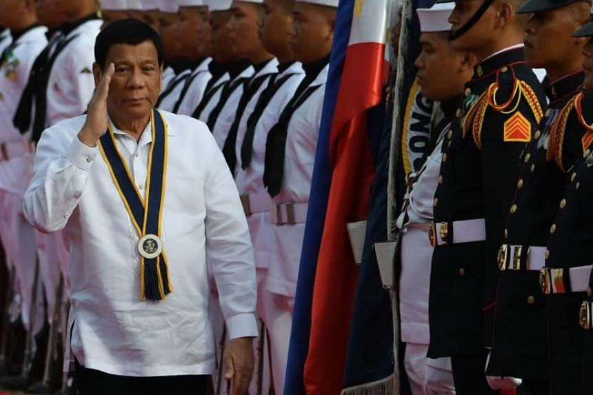 President Rodrigo Duterte was criticised for kissing an overseas Filipino worker in Seoul.