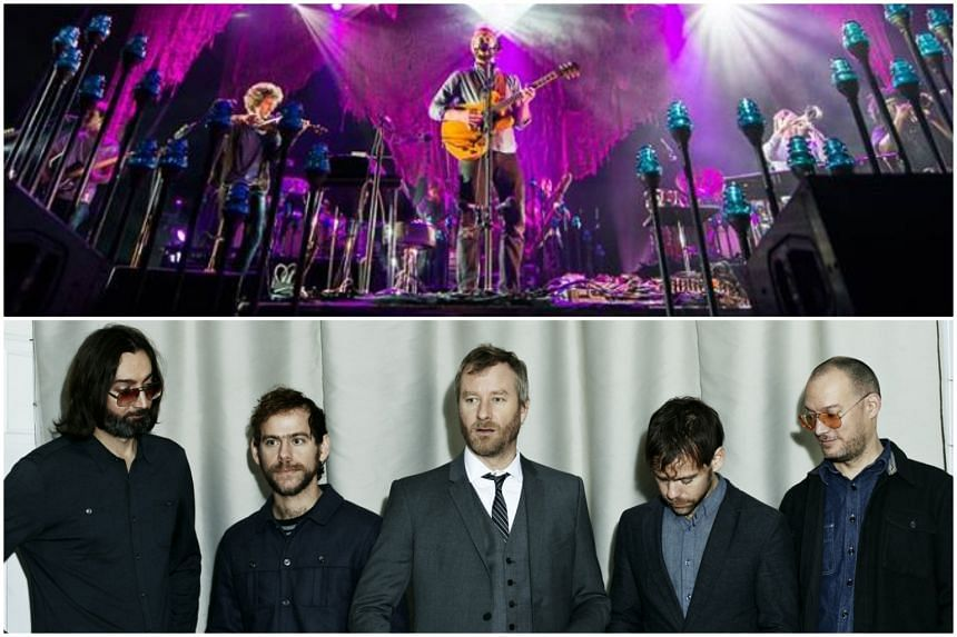 Indie rockers Bon Iver (top) and The National unveiled People, a site for musicians to post their outtakes hassle-free and is designed not as a rival to major streaming sites but rather as a free site of benefit to musicians and fans.
