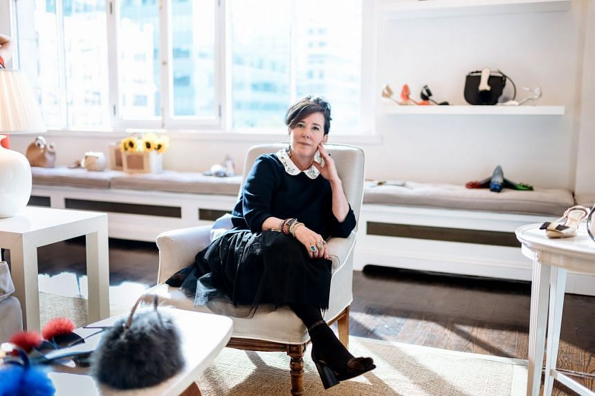 Kate Spade in 2016 as she debuted her new accessories line, Frances Valentine, in New York.
