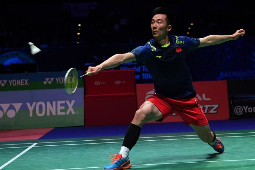 Current world No. 35 Huang Yuxiang is one of the up-and-coming players who will be competing at the Singapore Badminton Open.