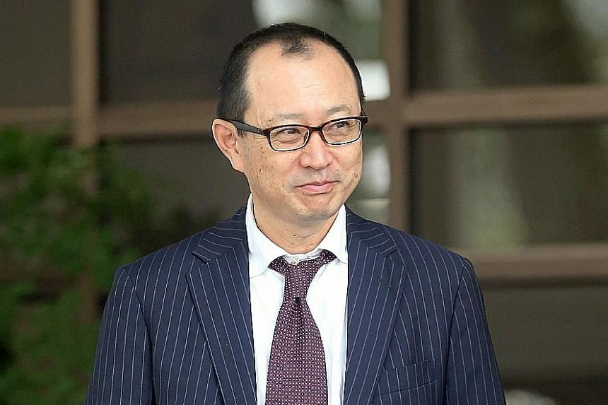 Takaaki Masui (left) and Katsutoshi Ishibe, who worked for Nissho Iwai International Singapore and later Sojitz Asia, received more than $2 million in bribes from Mr Koh Pee Chiang between 2004 and 2007.