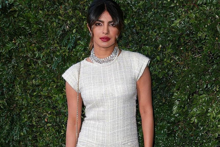Actress Priyanka Chopra's FBI agent character in Quantico foiled a terror plot by Indian nationalists in a recent episode, sparking an uproar in India.