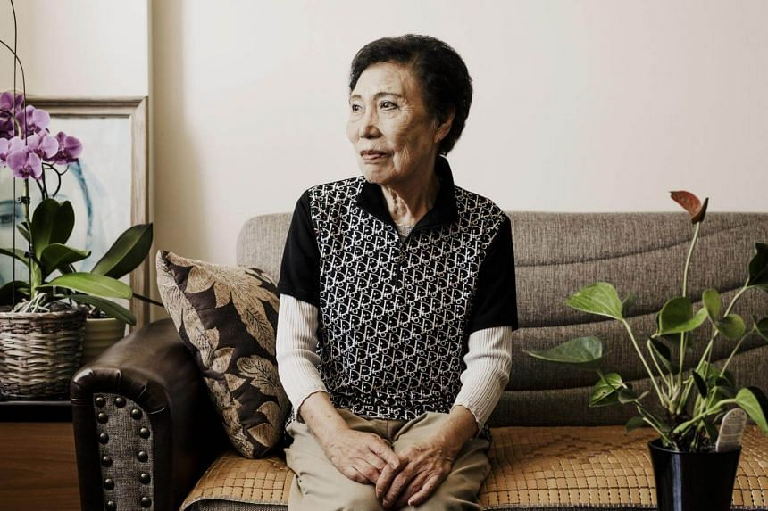 Hyun Ock Seo, 87, lives in a retirement home in Chicago. She fled North Korea after war broke out on the Korean peninsula in 1950 and has not seen her three younger siblings since.