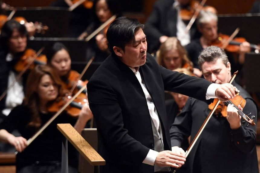 Led by China's most celebrated conductor Long Yu (above), the Shanghai Symphony Orchestra will premiere on Deutsche Grammophon next year with a CD of to-be-announced works by Chinese and Russian composers.
