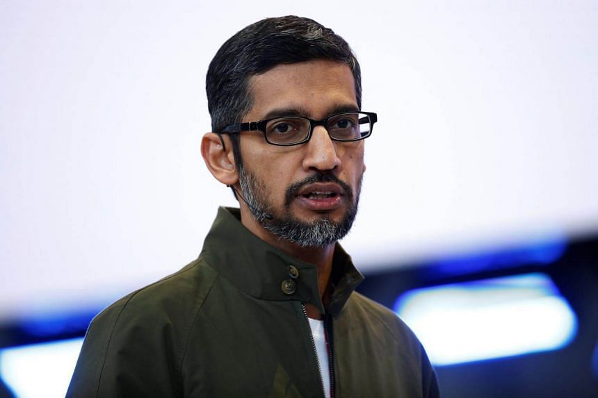 """Chief executive Sundar Pichai said Google is using AI """"to help people tackle urgent problems"""" such as prediction of wildfires, helping farmers, diagnosing disease or preventing blindness."""