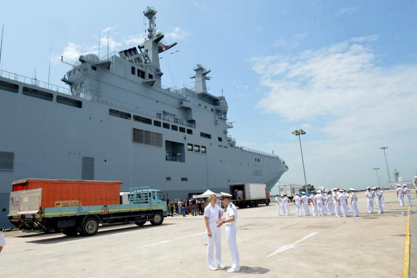 The Jeanne D'Arc mission is an annual deployment undertaken by French Navy ships over a five-month period.