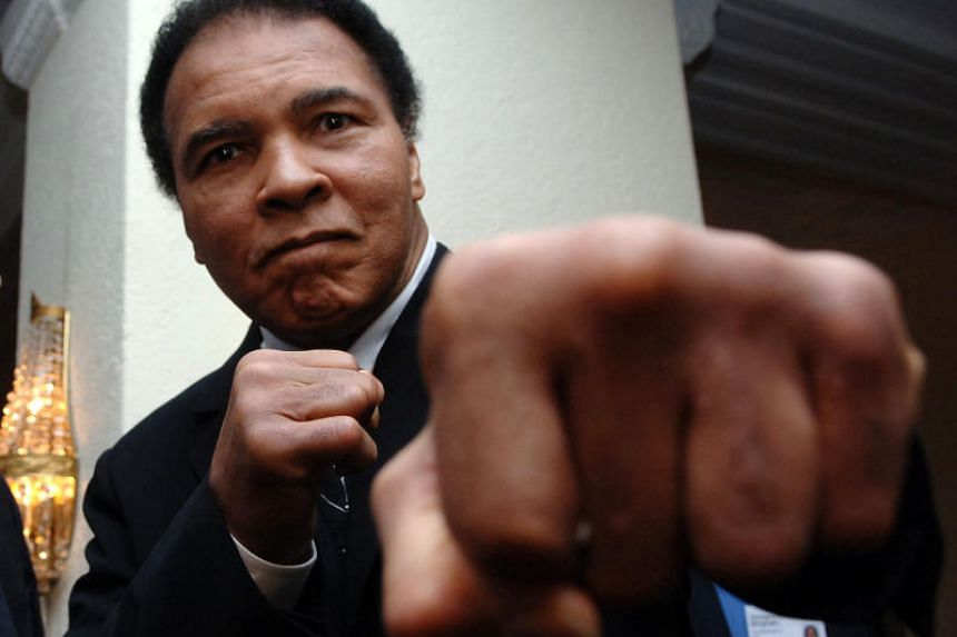 """US President Donald Trump said Muhammad Ali (above) was one of some 3,000 people for whom he was considering a pardon because they """"may have been treated unfairly""""."""