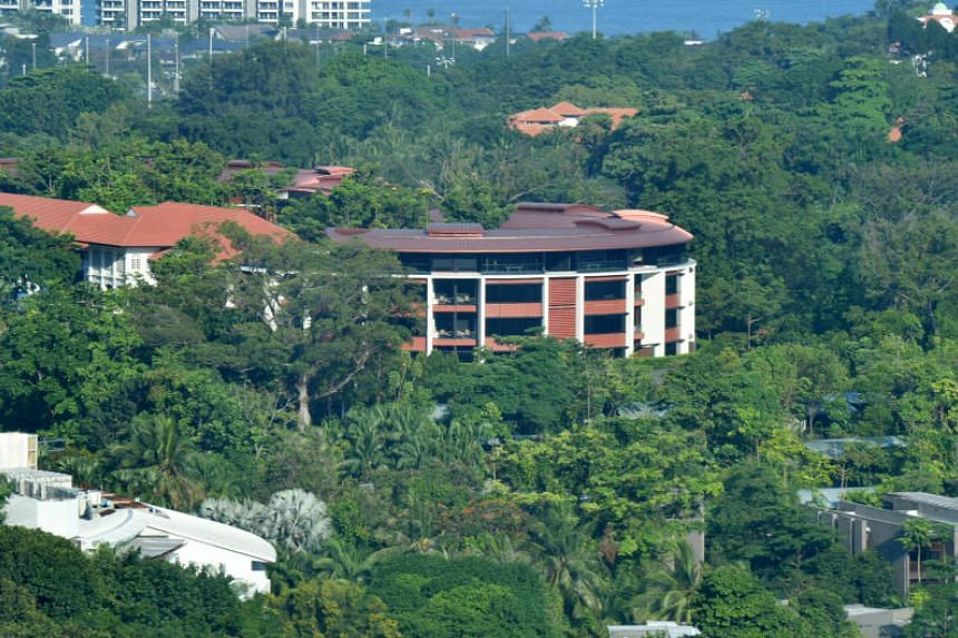 The summit between US President Donald Trump and North Korean leader Kim Jong Un will take place at the Capella Hotel in Sentosa on June 12, 2018.