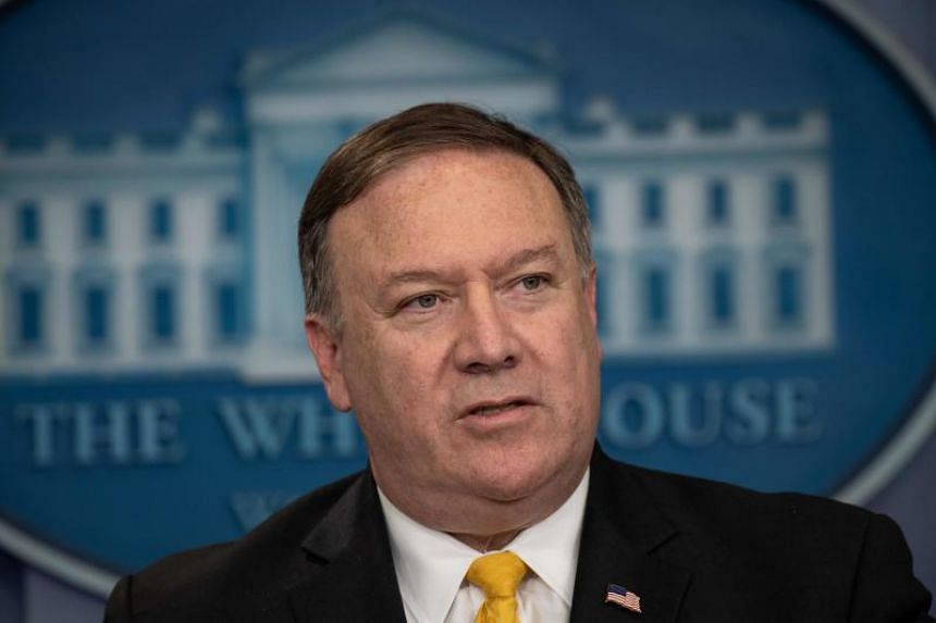 US Secretary of State Mike Pompeo speaks during the press briefing at the White House in Washington, DC, on June 7, 2018.