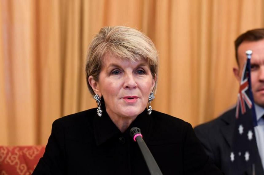 Australia's Foreign Minister Julie Bishop hopes to travel to China for the latest in a series of annual meetings the two countries' foreign ministers have held since 2014.