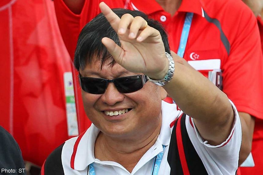 The Archery Association of Singapore's president Tang Chang Poh, 68, pictured during the Youth Olympics in Singapore in August 2010, has resigned, citing ill health.