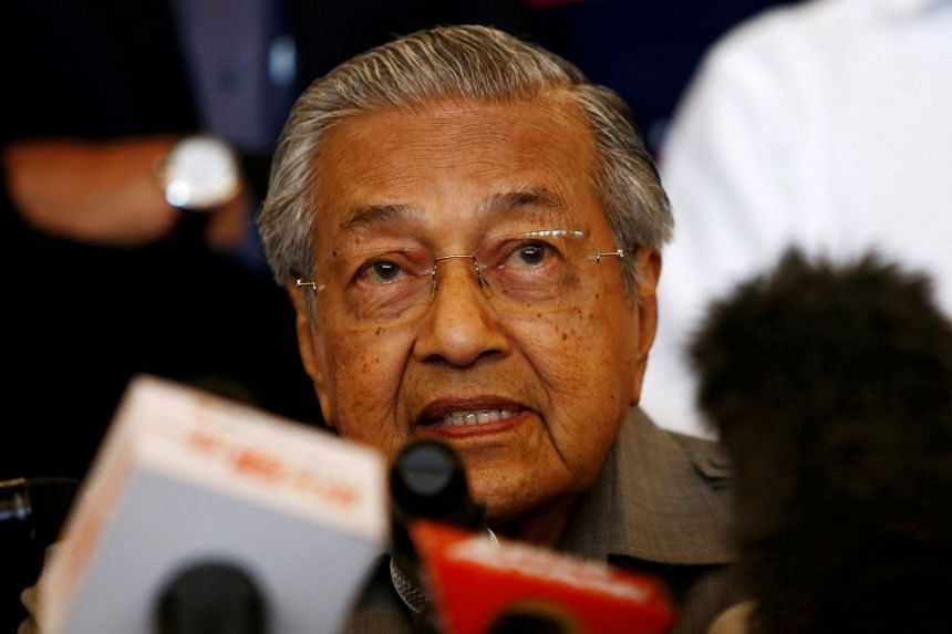 Malaysian Prime Minister Mahathir Mohamad said the trade pact should take into consideration the level of development of various countries.
