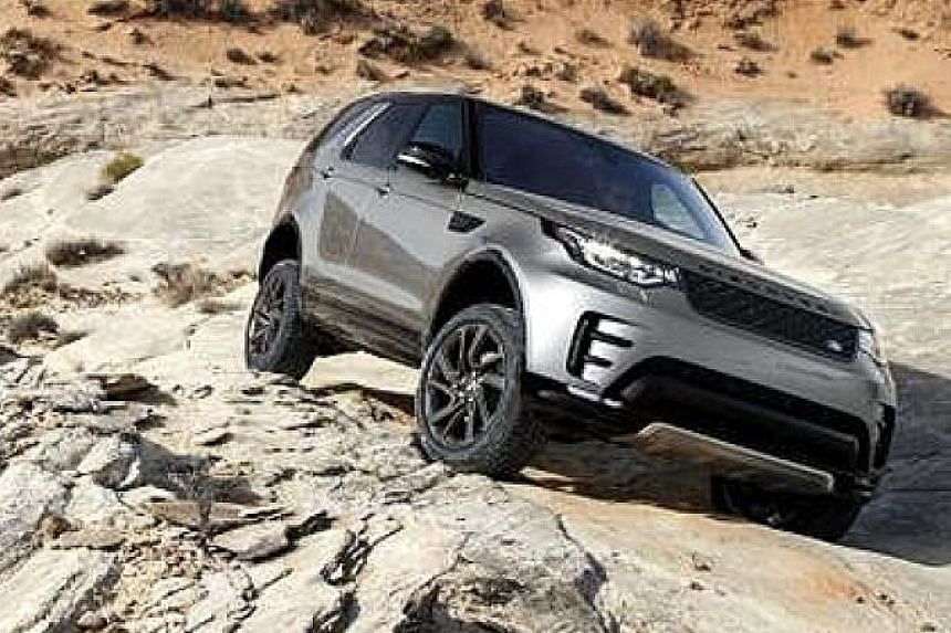 Jaguar Land Rover is developing off-road self-driving sport utility vehicles (above) in a project named Cortex.