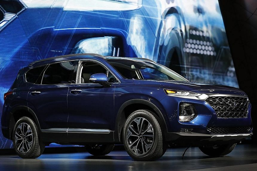 The 2019 Subaru Forester at the New York Auto Show in March.