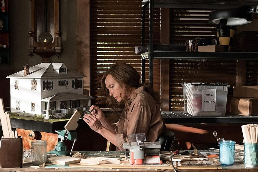 Toni Collette plays an artist and mother tormented by family secrets in Hereditary.