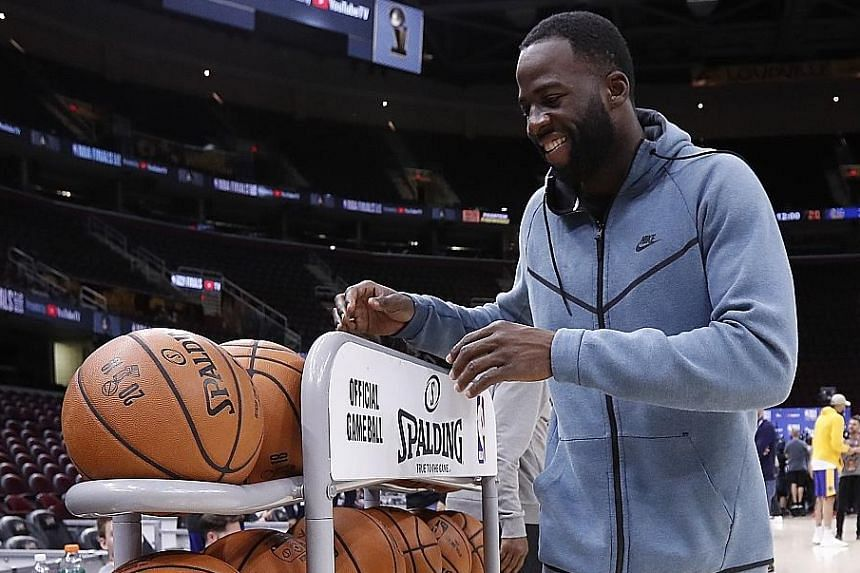 Golden State Warriors forward Draymond Green is motivated by the pain of the Game 4 loss to the Cleveland Cavaliers in last year's NBA Finals.