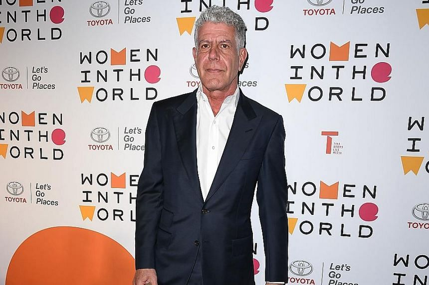Celebrity chef Anthony Bourdain, the face of CNN's Parts Unknown TV series, was a strong supporter of Singapore hawker fare.