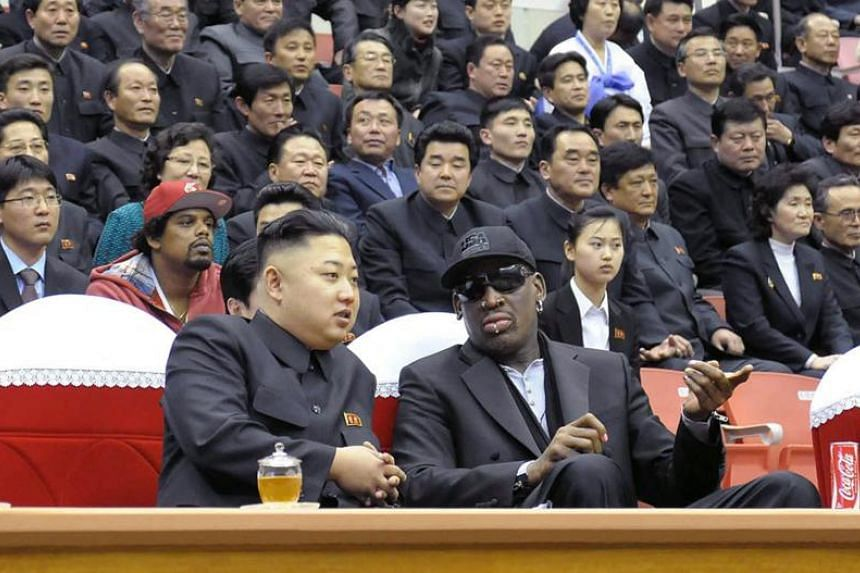 "Dennis Rodman once called North Korean leader Kim Jong Un his ""friend for life""."