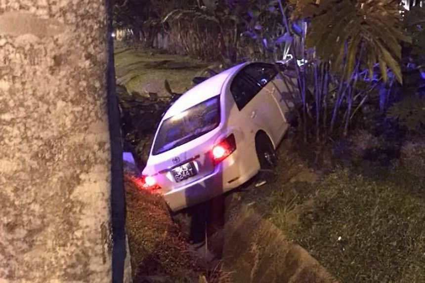 Police said they were alerted to the accident at 10.14pm on June 8, 2018, at the junction of Yio Chu Kang Road and Cactus Road.