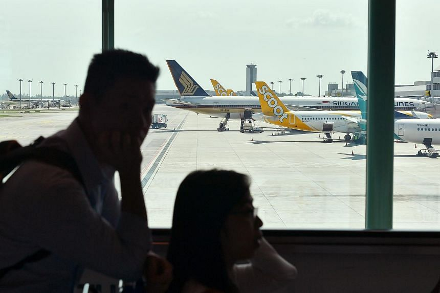 The Ministry of Transport, Civil Aviation Authority of Singapore and Changi Airport Group confirmed that airlines will get a 1 per cent rebate on landing charges, with parking and aerobridge fees halved.
