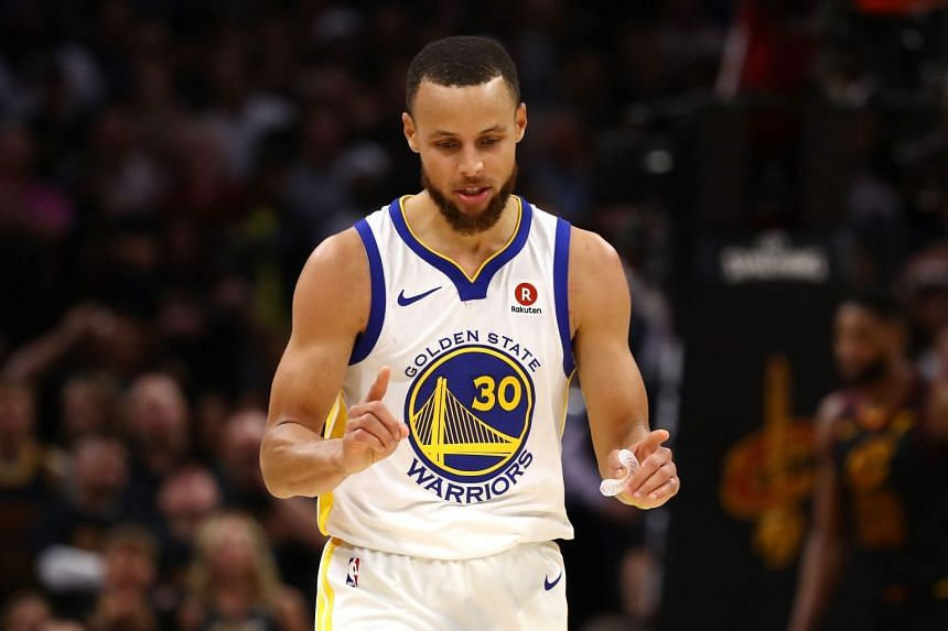 Golden State Warriors guard Stephen Curry (above) said he would skip a White House visit if his team won the finals.