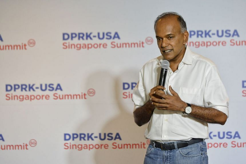 Minister for Home Affairs and Law K. Shanmugam said there were 5,000 home team officers deployed for the summit between US President Donald Trump and North Korean leader Kim Jong Un.
