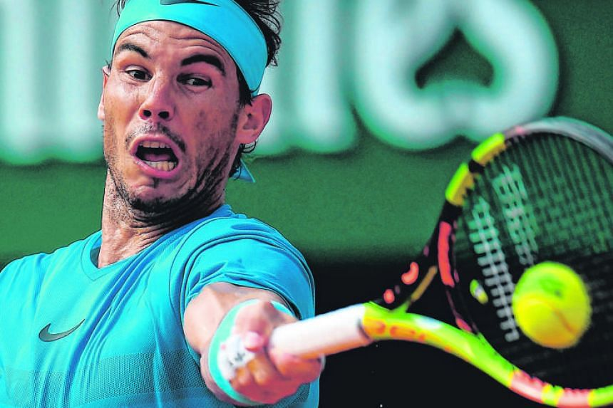 While Dominic Thiem is in his first Grand Slam final, he is the only man to have beaten defending champion and 10-time French Open champion Rafael Nadal (above) twice on clay in the past 13 months.