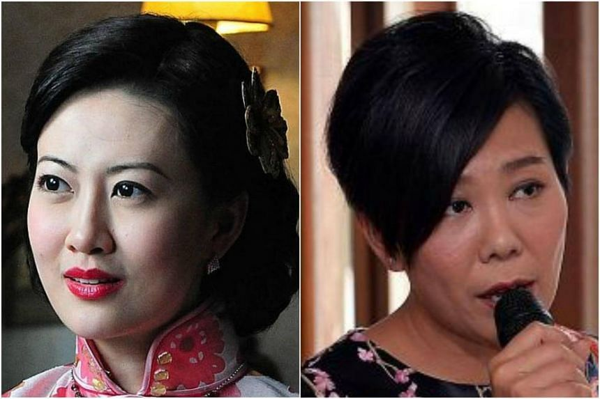 Local TV actress Eelyn Kok (left) and entertainer Irene Ang have both suffered from depression.