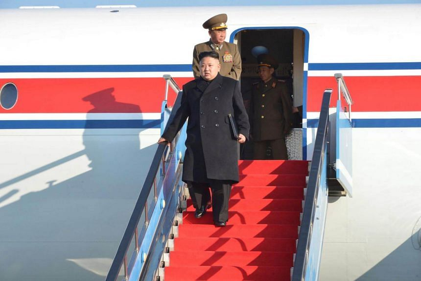 North Korean leader Kim Jong Un (pictured), who will be meeting US President Donald Trump on June 12, will likely arrive at Changi Airport on June 10.