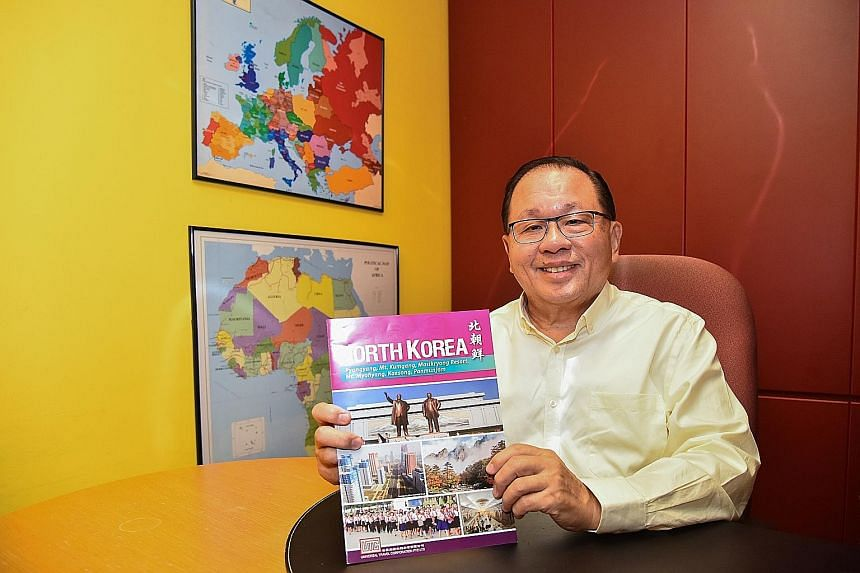 Mr Khoo Boo Liat, 68, who runs Universal Travel Corporation, said his request to run tours in North Korea was approved after he visited the country in 1994 for the first time. He was impressed then by how modern it was.