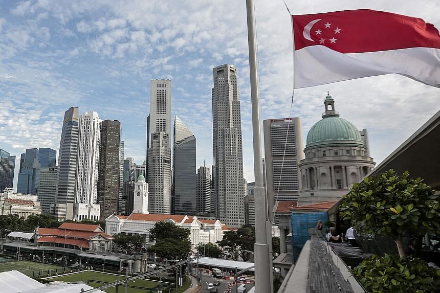 About three-quarters of Singapore's resident population are Chinese, with Malays making up around 13 per cent, Indians 9 per cent and other races, such as Eurasians, comprising the remainder.