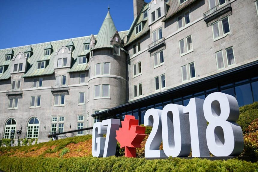 """Canada hosted the leaders of the UK, Italy, the US, France, Germany and Japan for the G-7 summit, which nationalistic Chinese tabloid The Global Times said """"ended in disarray""""."""