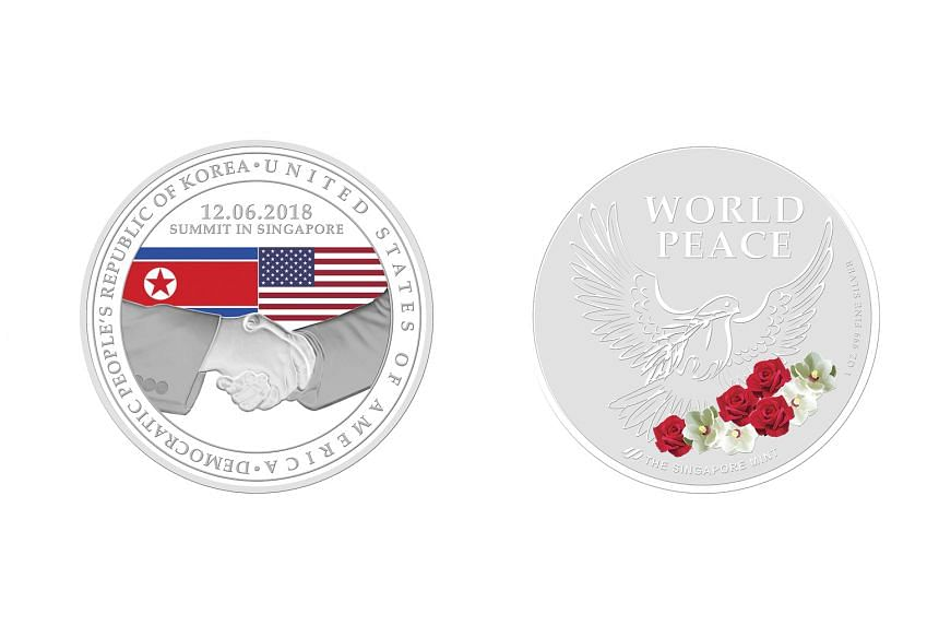 The Singapore Mint's three commemorative coins – made of gold, silver or base metal – are available for pre-order.