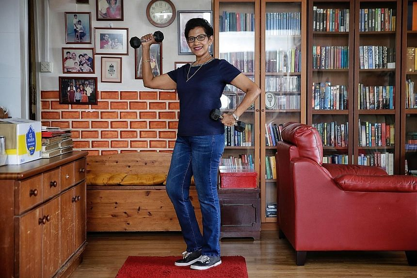 Worried about the impact of her 76kg frame on her health, Ms Kamala Christie went on the ketogenic diet in January and is now at her target weight of 58kg.