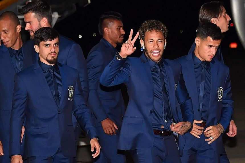 Neymar and Philippe Coutinho both scored in Brazil's 3-0 win over Austria on Sunday. It was their final warm-up match ahead of the World Cup in Russia. The pair and their team-mates arrived early yesterday morning in Sochi where they will be based.