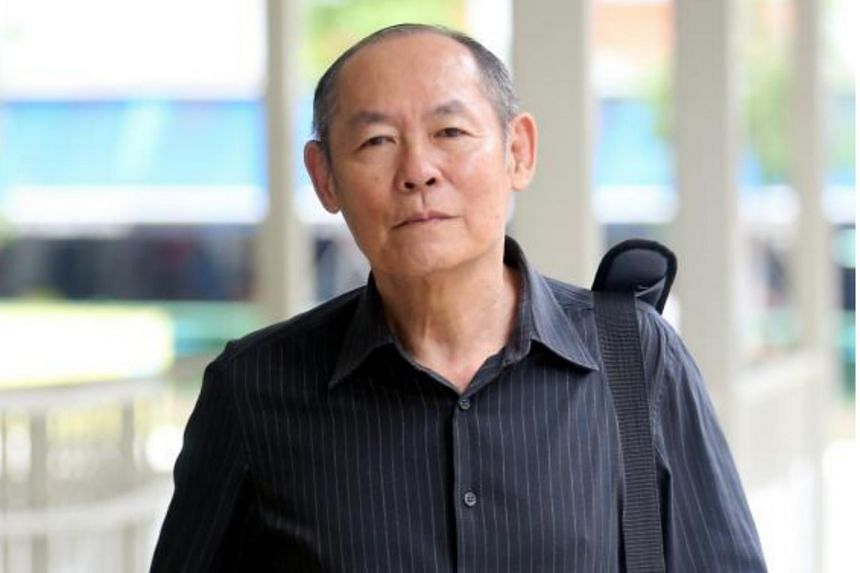 Gan Thean Soo, 72, will have to serve a brief stint behind bars but will not have a criminal record after he is released.