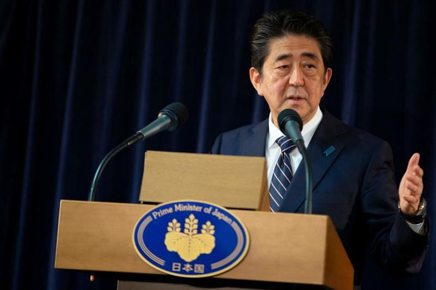 """Sexual harassment is a clear violation of human rights. It must never be tolerated,"" said Japan's prime minister Shinzo Abe."